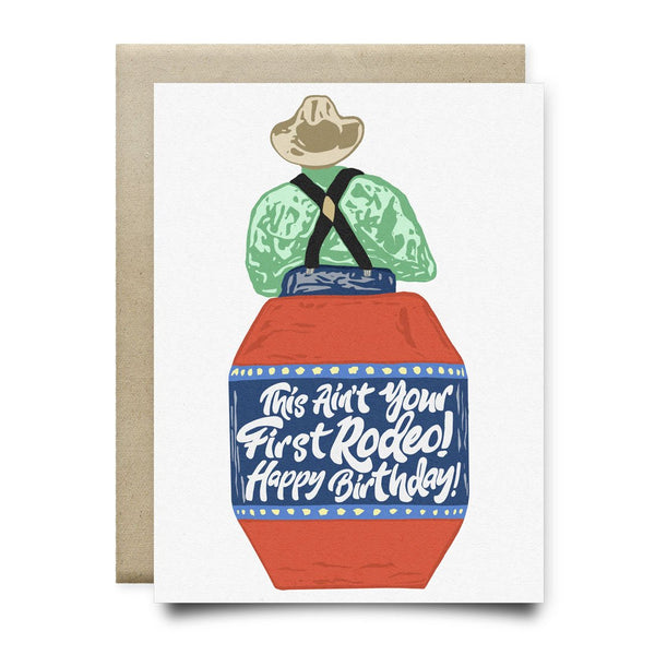Not Your First Rodeo Birthday Card - Cards