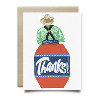 Rodeo Thank You Card - Cards