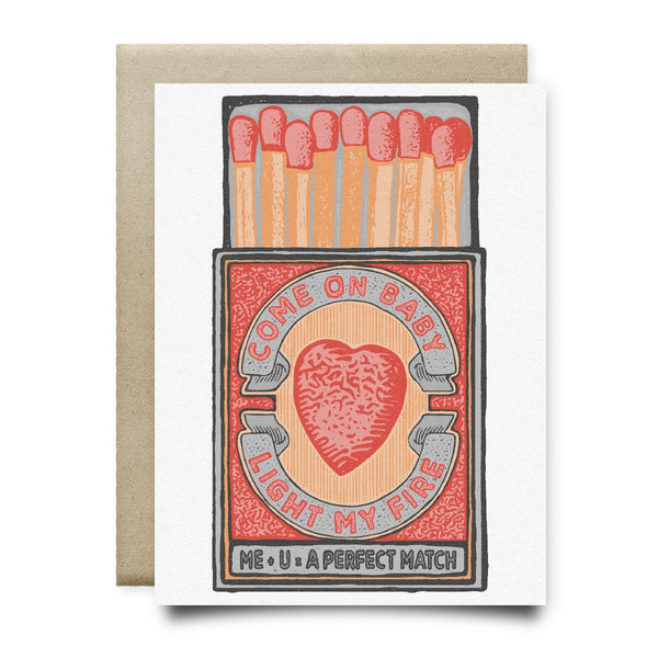 Baby Light My Fire - Perfect Match Card