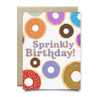 Sprinkly Birthday Card