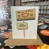 House of Pies Happy Anniversary Sweetie Pie Card