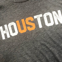 HoUSton Shirt | Astros White and Orange on Navy