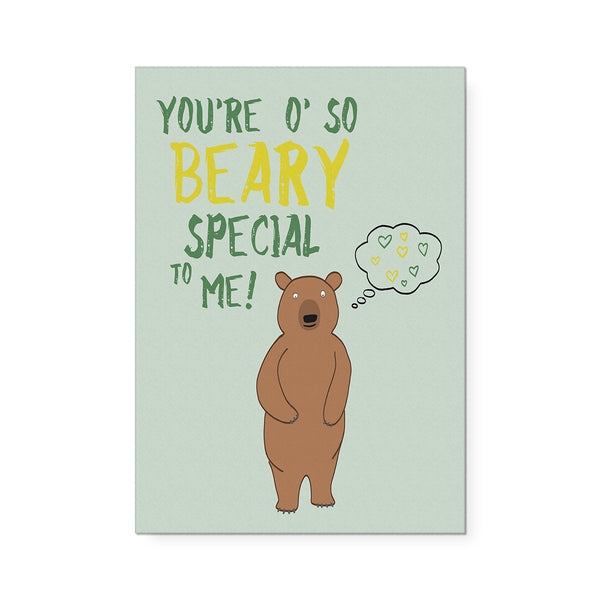 O'So Beary Special Art Print