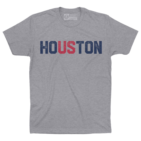 HoUSton Shirt | Texans Blue and Red
