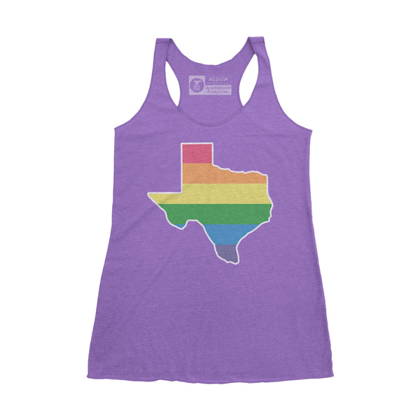 Pride Texas Women's Tank - Purple