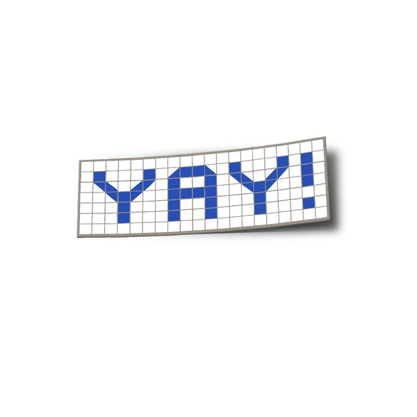Yay Blue Tiles Sticker