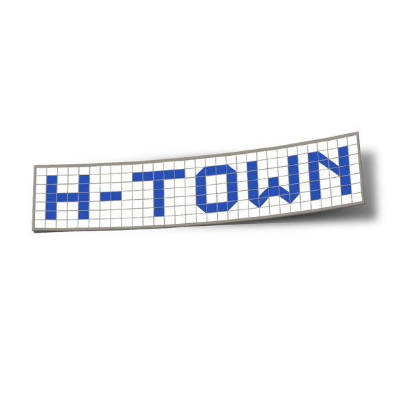H-Town Blue Tiles Sticker