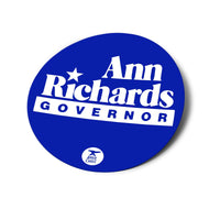 Ann Richards Sticker