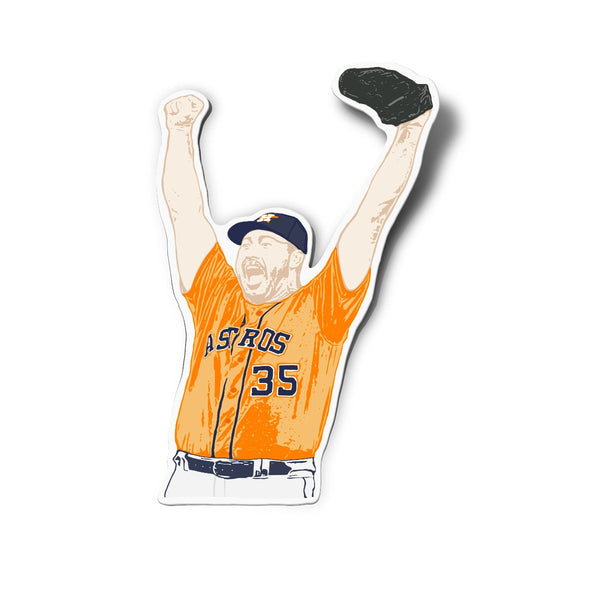 Verlander Sticker