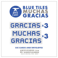 Houston Blue Tiles Gracias Bundle