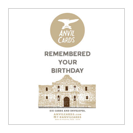 Alamo Remembered Your Birthday Bundle