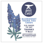 Bluebonnets Thanks Y'all Card Bundle