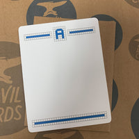 Blue Tiles Stationery Set