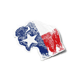 Buffalo Texas Flag Sticker