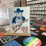 Willie Nelson Card | Always On My Mind