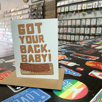 Got Your Back Baby Greeting Card