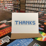 Thanks | Houston Blue Tiles Greeting Card