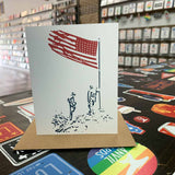 Flag Salute Greeting Card