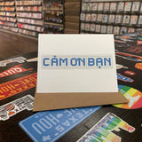 Cam On Ban | Houston Blue Tiles Greeting Card