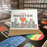 From Houston with Love | Astros Orange and Blue
