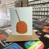 Stay Sweet! Candy Apple Greeting Card