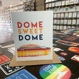 Dome Sweet Dome Greeting Card | Astros Vintage Rainbow