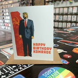 Happy Birthday Komrade Card