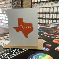 Texas Thank You Card | Burnt Orange