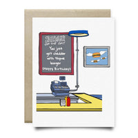Cheddar with Thyme Birthday Card - Cards