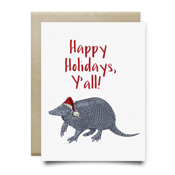 Happy Holidays Y'all Card
