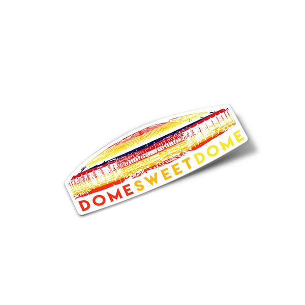Dome Sweet Dome Astrodome Stickers