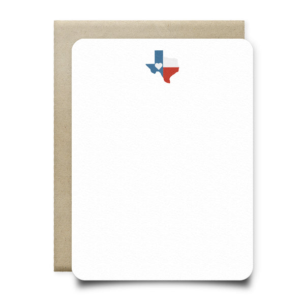 Texas Love Stationery Set