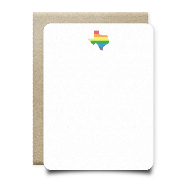 Texas Pride Stationery Set