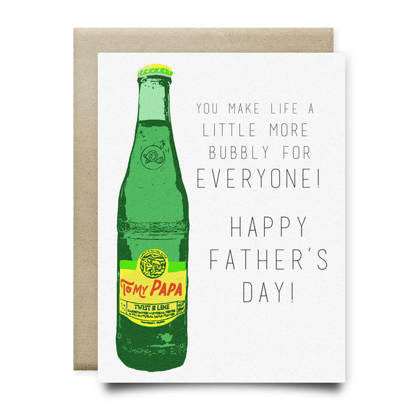Topo Chico Father's Day Card