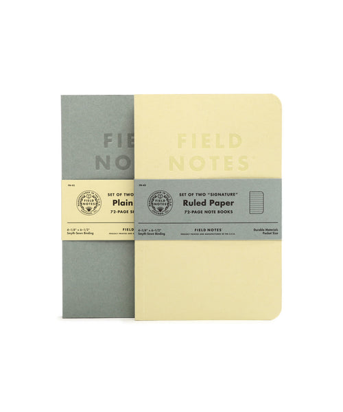 Field Notes Signature Ruled Notebook