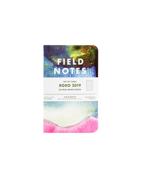 Field Notes XOXO 2019