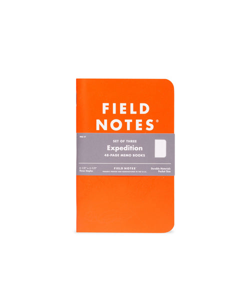 Field Notes Expedition Waterproof 3 Pack