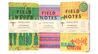 Field Notes United States of Letterpress - Series A