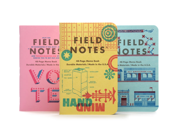 Field Notes United States of Letterpress - Series C