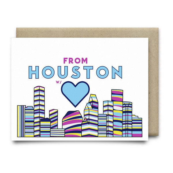 From Houston with Love | Multi-Color - Cards