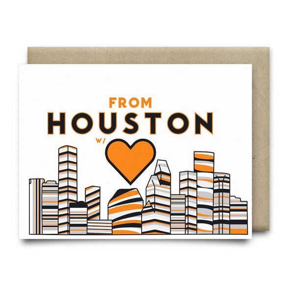 From Houston with Love | Astros Orange and Blue - Cards