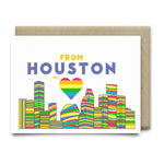 From Houston with Love | Houston Pride - Cards