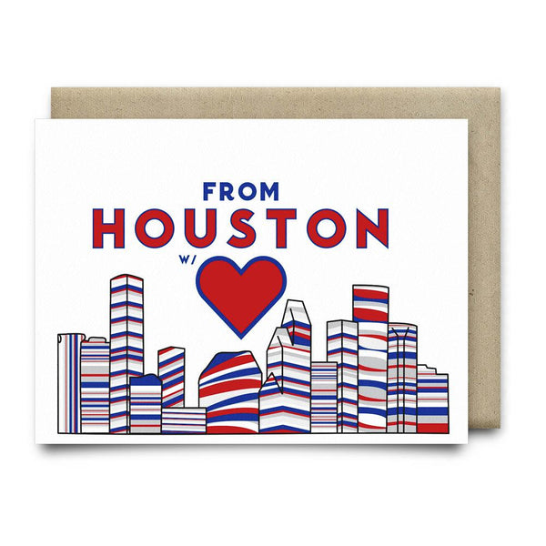 From Houston with Love | Red White and Blue - Cards