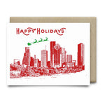 Happy Holidays in Houston Christmas Card