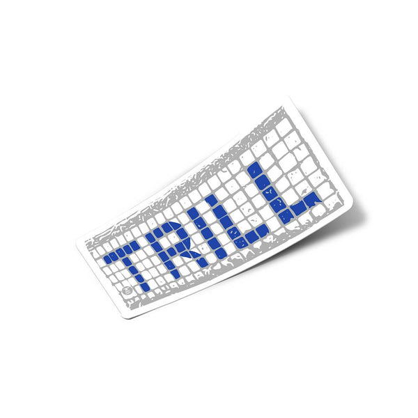Houston Blue Tiles Sticker - Trill