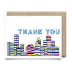 Houston Thank You Card |Multi-Color - Cards