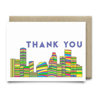 Houston Thank You Card |Houston Pride - Cards