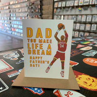 Dad You Make Life a Dream - Hakeem Father's Day Card