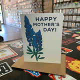 Bluebonnet Mother's Day Card