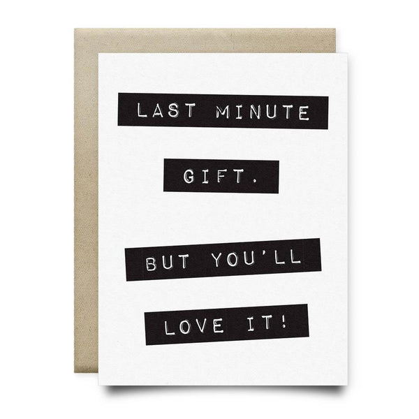 Last Minute Gift - Cards